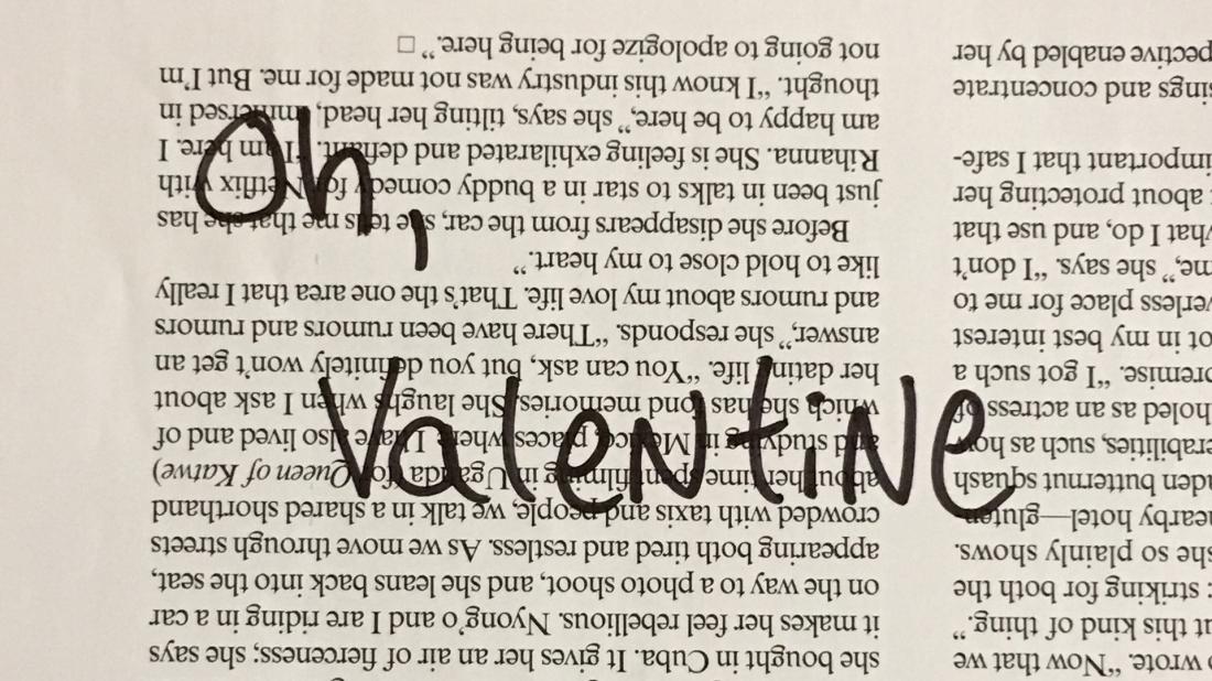 Oh Valentine